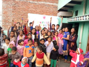 Celebrating Christmas with CSS Children in Agra